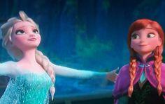 """Frozen"" - Elsa and Anna."