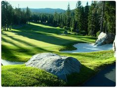 Coyote Moon Golf Course in Truckee California. Gorgeous fairways tucked in Sierra Mountains near Lake Tahoe. www.TahoeActivities.com