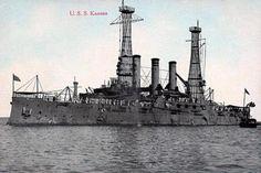 BB - 21 - USS Kansas