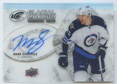 Mark Scheifele 2016 17 UD ice glacial graphs Winnipeg Jets signed auto  autograph a30ed251b