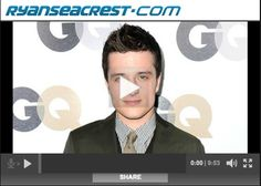 Josh Hutcherson was just a guest on Ryan Seacrest's radio show and had some things to say about actor jealousy, Twilight, and being Peeta.  He also has an awesome and hilarious conversation with a huge fan who doesn't realize who she's talking to at first: http://www.myhungergames.com/josh-hutcherson-on-air-with-ryan-seacrest
