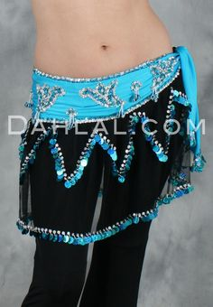 Dahlal Internationale Store - MESH RUFFLES Hip Wrap, $45.00 (https://www.dahlal.com/mesh-ruffles-hip-wrap/)