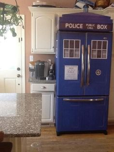 This is awesome! Want one! Just hope, like the tardis, there is more room within than without!
