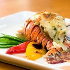 Lobster Tail With Lobster Sauce