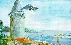 Hezarfen (1000 Science) Ahmet Çelebi used to live in Ottoman Empire under IV. Murad reignment period..... First turkish famous Science Giant 1609- 1640