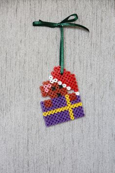 Christmas ornament perler beads