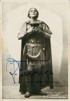 Fagoaga, Isidoro - Signed Photo as Siegfried