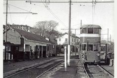 Mumbles Light Railway and Tramway. At Oystermouth Square, Swansea, Wales. Swansea Bay, Swansea Wales, Wales Map, Gower Peninsula, Visit Wales, Rail Car, Great Western, British History, South Wales
