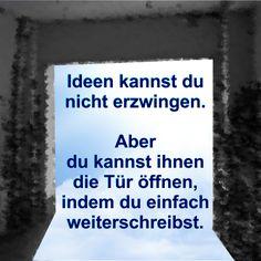 So findest du deine Ideen. Aufgespürt von deinem Schreibcoach: www.rindlerwahn.de