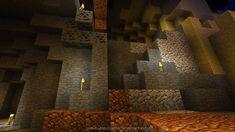 Die Unterwelt der Minecraft-Insel Emlomaar.