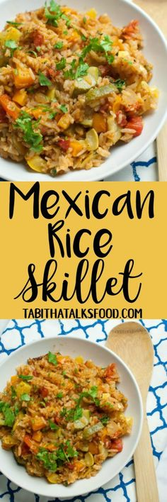 Mexican Rice Skillet