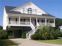 Edisto, far back from beach.  House vacation rental in Edisto Beach from VRBO.com! #vacation #rental #travel #vrbo