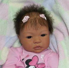 Baby Reborn Doll Biracial | Reborn AA/Biracial, Ethnic Baby Girl~Tianna~Al eina Peterson, Shyann ...