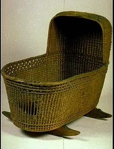 Cradle brought on the Mayflower by William and Susanna White for their soon-to-be son Peregrine.