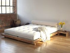 8 Creative and Modern Tips Can Change Your Life: Grey Futon Low Beds black futon ikea.Futon Office Home. Low Bed Frame, Minimalist Bed, Ikea Bed, Bedroom Design, Floor Bed, Bed, Japanese Bed, Futon Bed Frames, Japanese Bed Frame