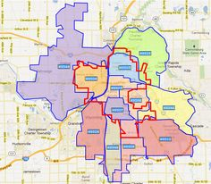Grand Rapids Zip Code Map Zip Code Map