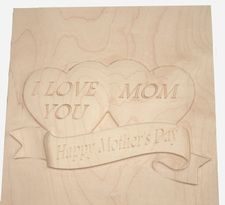 7 3/4 x 7 3/4 x 3/4 White Maple 3D Relief   $  45.00     Read more: http://www.djnphotowoodworking.com/-3d-relief.html#ixzz2SsHIDRvN