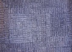 Bambatua Napangardi Campbell — Aboriginal Fine Art - you must look at this closely to see the amount of work that has gone into it.