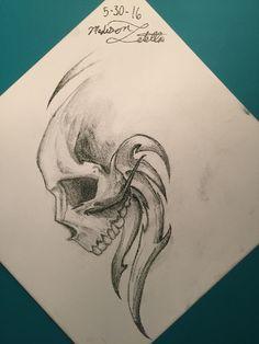 Skull-by: Madison Latella