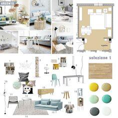 Interior Design Service / consulenza d'arredo/ progetto ARGENTO
