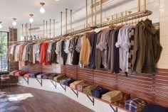 Retail Design | Shop Design | Fashion Store Interior Fashion Shops | Gant Rugger's New Concept Store in Williamsburg, Brooklyn
