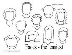 simple cartoon faces to draw - Bing Images Doodle Drawings, Easy Drawings, Doodle Art, Cartoon Drawing Tutorial, Drawing Cartoon Characters, Drawing Cartoons, Drawing Tutorials, Drawing Ideas, Face Outline