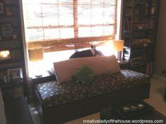 Window seat hide-a-bed