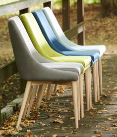 Pomax nieuwe collectie stoel #EERO deining Chair eetkamerstoelen groen, grijs, blauw, geel en jeans blauw. Stoel KENNEDY
