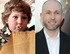 """""""Chunk"""" from The Goonies -Then and Now"""