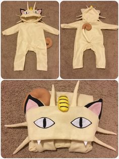 Toddler Meowth costume                                                                                                                                                                                 Más