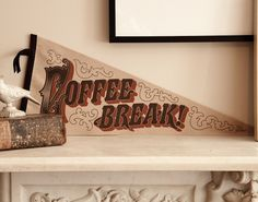 Who doesn't need a pennant like this?  You could say non-coffee drinkers, but they aren't people...they are robots.