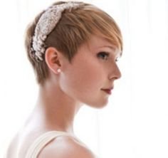 Anyone doing short hair? Post your inspiration pics! Also, bonus question - Weddingbee