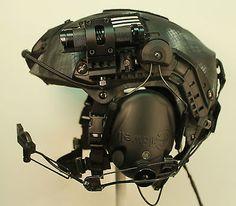 """Black Ops"" Special Forces PT Helmet Large Ops Core VAS, Peltor ARC SEAL DEVGRU in Collectibles, Militaria, Current Militaria (2001-Now) | eBay!"