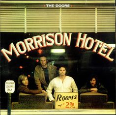 The Doors Morrison Hotel - Red Label UK LP RECORD (515873)