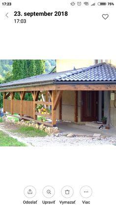 Drevená prístavba Pergola, Outdoor Structures, Outdoor Decor, Home Decor, Decoration Home, Room Decor, Outdoor Pergola, Home Interior Design, Home Decoration