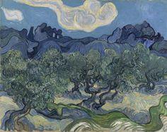 Vincent van Gogh. The Olive Trees. Saint Rémy, June-July 1889