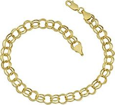 online shopping for Kooljewelry Yellow Gold mm Round Link Charm Bracelet from top store. See new offer for Kooljewelry Yellow Gold mm Round Link Charm Bracelet Heart Shaped Rings, Heart Shaped Diamond, Drop Necklace, Stud Earrings, Engagement Ring Settings, Sterling Silver Rings, Jewelry Gifts, Women Jewelry, Yellow
