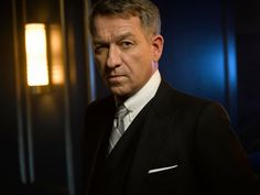 Interview with Gotham star Sean Pertwee on season two, playing Alfred, Alfred and Bruce Wayne's relationship, and Bruce evolving toward Batman. Gotham Series, Gotham Tv, Gotham Girls, Tv Series, Alfred Gotham, Gotham Season 2, Gotham Characters, Sean Pertwee, Dc Movies