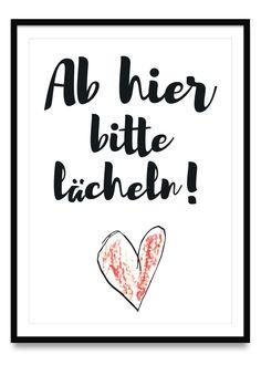 Ab hier bitte lächeln - Poster Peach Wedding Invitations, Printable Wedding Invitations, Elegant Wedding Invitations, Indian Wedding Receptions, Wedding Mandap, Wedding Quotes, Wedding Humor, Wedding Ideas, Motivation Poster
