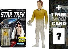 Beaming Kirk: Funko x Super 7 x Star Trek ReAction Series  1 FREE Official Star Trek Trading Card B @ niftywarehouse.com #NiftyWarehouse #StarTrek #Trekkie #Geek #Nerd #Products