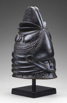 Sierra Leone- Vai Helmet Mask: female beauty, puberty celebration