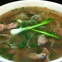 Vietnamese Pho with beef