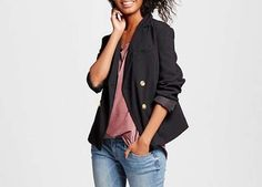 Because every lady needs a fitted blazer in her life.Who What Wear ($40) - Target