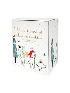 The Woodland Advent Calendar by Meri Meri is magical. A special advent calendar for a special Christmas, it comes with a set of woodland critters crafted in natural wood and a Christmas tree to create a festive scene.