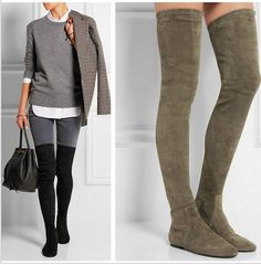 Would love a pair!  Flat and neutral color, not hoochie.  Black, grey or taupe..... Whatever you think.