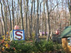 The abandoned Storybook Forest in Schellsburg, PA.