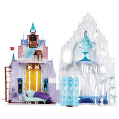 "Disney Frozen Castle & Ice Palace Playset -  Mattel - Toys""R""Us {{Kinda expensive but they would love it...}}"