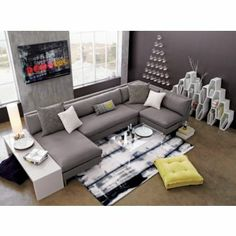 peekaboo clear coffee table in accent tables | CB2 $279