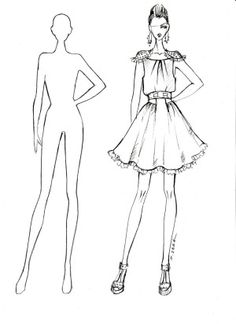 mannequin template for fashion design google search things to