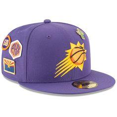 Men s Phoenix Suns New Era Purple 2018 Draft 59FIFTY Fitted Hat 3c550631e40